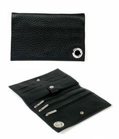 Leather Wallet Feuillou @ www.parismodeshop.com