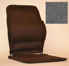 Car Seat Support Systems - Pin it :-) Follow us :-)).. CLICK IMAGE TWICE for Pricing and Info :) SEE A LARGER SELECTION of car seat support system  at  http://zcarseatcushions.com/product-category/car-seat-support-systems/ -  car, upholstery -   ZB McCarty's Sacro Ease Standard Car Seat Lumbar Support GREY