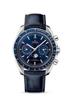 OMEGA Watches: Speedmaster Moonphase co-axial Master Chronometer Chronograph