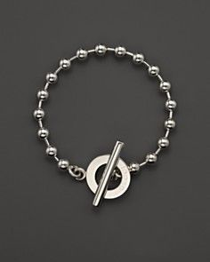 Gucci Boule Sterling Silver Circle Bracelet