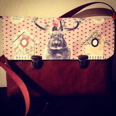Ecologic leather bag, customizable whims von CarlaLluna auf DaWanda.com