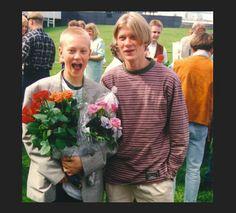 Young Jukka and Jarno!