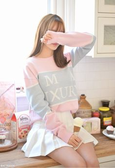 Pastel fashion, k fashion, fashion sale, korea fashion, kawaii fashion Korea Fashion, Kpop Fashion, Asian Fashion, Fashion Outfits, Fashion Sale, Cute Fashion, Girl Fashion, Moda Ulzzang, Ulzzang Girl