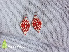 Cercei de srbatoare Toho beads earrings