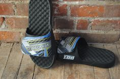 Another view of the Moto Option slides. We love these. What would you customize? #holiday #gift #wishlist