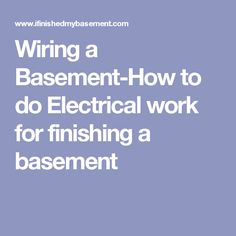 how do you a wiring diagram images of tracker nitro  wiring a basement how to do electrical work for finishing basement