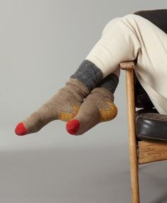 ESK Cashmere Hause Sock - Natural Quality warm socks make an awesome and practical gift.