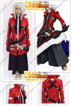 Blazblue Ragna the Bloodedge Cosplay costume