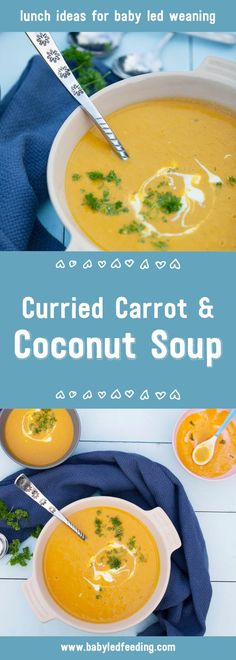 A yummy sippy cup soup that is a great lunch recipe for blw & will introduce your little one to a wide range of spices and exotic flavours.