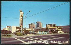 Salt Lake City Utah, Frame Crafts, Motel, Vintage Postcards, See Picture, Yahoo Images, Vintage Shops, Image Search, Street View
