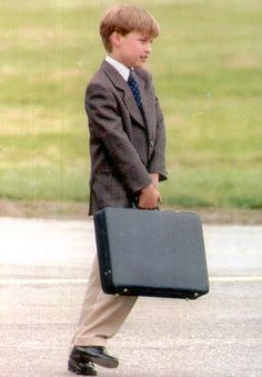 A young Prince William