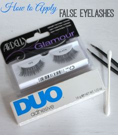 Want to add a little glam this holiday season? Try wearing false eyelashes. They're easy to apply and will definitely make your eyes pop!