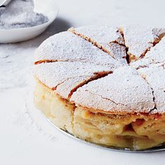 Apple Sharlotka | Chef Matt Danko uses his father's recipe to make sharlotka, a deliciously light and fluffy Russian apple cake.