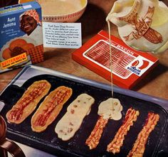 Bacon Pancake Strips! Yes Yes, Oh Yes!