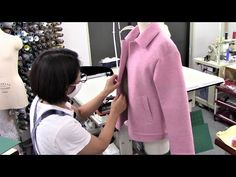 How to sew a Bal Collar Jacket (Blazer) - YouTube