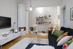 Small Apartment Displaying Clever Design Solutions in Gothenburg