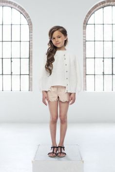 Pale Cloud Spring Summer 2014 Rose Cardigan & Khloe Shorts children's fashion