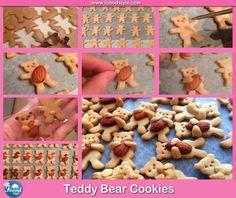 Awesome Teddy Bear Cookies idea ! - Foood Style