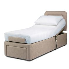 2'6 Sherborne Dorchester Adjustable Bed from Queenstreet Carpets & Furnishings