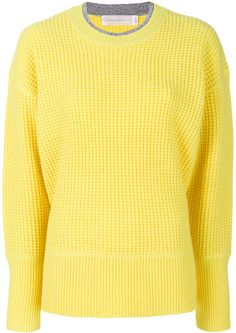 Victoria Victoria Beckham waffle knit jumper. Jumper sweater fashions. I'm an affiliate marketer. When you click on a link or buy from the retailer, I earn a commission.