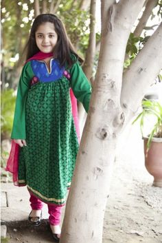 Maria B Kids Dresses 2014 for Wedding Season Girls Wear (3)