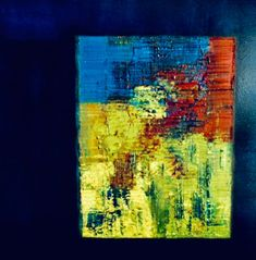 Rivage, Art Original, Oeuvre D'art, Les Oeuvres, Painting, Oil On Canvas, How To Paint, Abstract Backgrounds, Artist