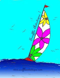 Souffle Artistique Sports Nautiques, Souffle, Letters, Blog, Paradis, Laurent, October 2, Veil, Artist