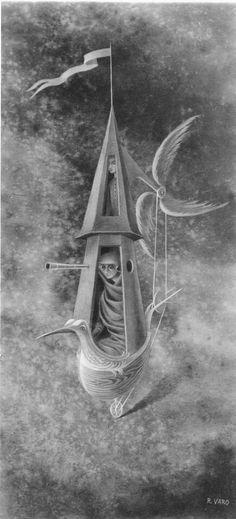 Explorador Piloto, 1960. – Remedios Varo Remedios Varo
