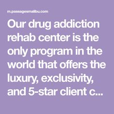 Our drug addiction rehab center is the only program in the world that offers the luxury, exclusivity, and client care you deserve. Rehab Facilities, Care About You, Drugs, Addiction, Star, Luxury, All Star, Red Sky At Morning
