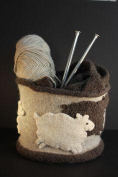 Perfect knitting bag.