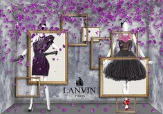 Visual Merchandising Concepts for Lanvin by Silvia Teh, Singapore, pinned by Ton van der Veer