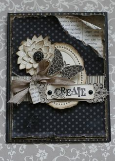Love how this card looks 3D. You need to be a Stampin' Up demonstrator to veiw this card.