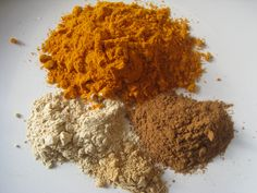 Combine these ingredients for Turmeric milk recipe - 1/4 cup organic Turmeric; 1 T coconut oil, 1 cup your choice of milk, sweetener to taste & 1 t of ground true (sweet) cinnamon, ground ginger, and ashwagandha powder (optional)