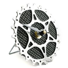 youu0027re a star bicycle cog desk clock tread and pedals