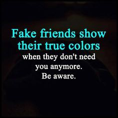 FAKE FRIENDS SHOW
