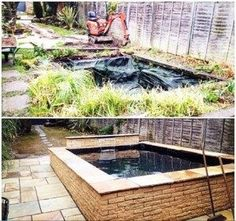 transformation between garden ponds