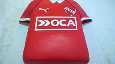 Torta Independiente, camiseta de futbol