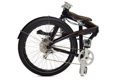 Tern Eclipse P24h folding bike - folded