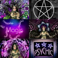 The second collage of enchantress I made, I couldn't decide witch photo I liked better so I made both