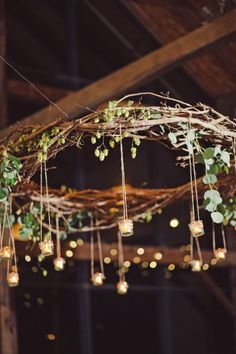 Hanging decoration ideas rustic branch chandelier with hanging elegant fall wedding wedding wedding decorations and barn wedding decorations hanging