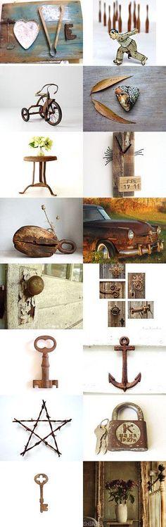 Rusty Love by DecadesOfVintage on Etsy--Pinned with TreasuryPin.com