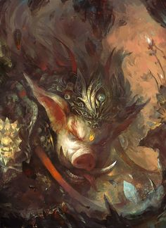 ArtStation - Record of a journey to the west, 成平 石
