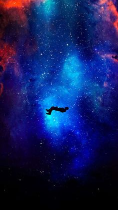 Falling In Space IPhone Wallpaper - IPhone Wallpapers