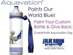 Aquavation supports Arthritis Research! They're Going Blue too!