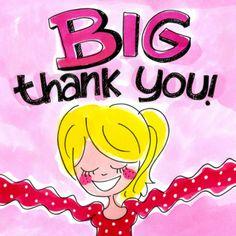 Meisje heeft veel dank en geeft knuffel- Greetz