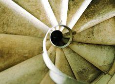 Escala de cargol del Temple Expiatori de la Sagrada Família | Spiral staircase. Antoni Gaudí. Barcelona