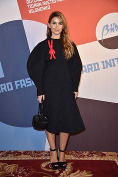 Miroslava Duma attends Buro 24/7 Fashion Forward Initiative as part  of Paris Fashion Week Womenswear Spring/Summer 2016 at Hotel Ritz on September 30, 2016 in Paris, France.