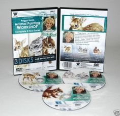 PEGGY HARRIS Dvd~Complet Set Fawn~Rabbits-Squirrel