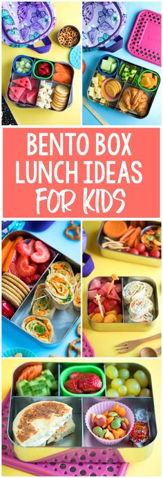 Need some school lunch packing inspiration? Here are our favorite bento box lunch ideas to pack for kids! Need some school lunch packing inspiration? Here are our favorite bento box lunch ideas to pack for kids! Bento Box Lunch For Kids, Kids Packed Lunch, Kids Lunch For School, Healthy Lunches For Kids, Toddler Lunches, Lunch Snacks, Kids Meals, Daycare Lunch Box, Bento Lunch Ideas