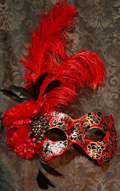 Midnight Masquerade: Mask Art by Katrina Pallon Online Shop
